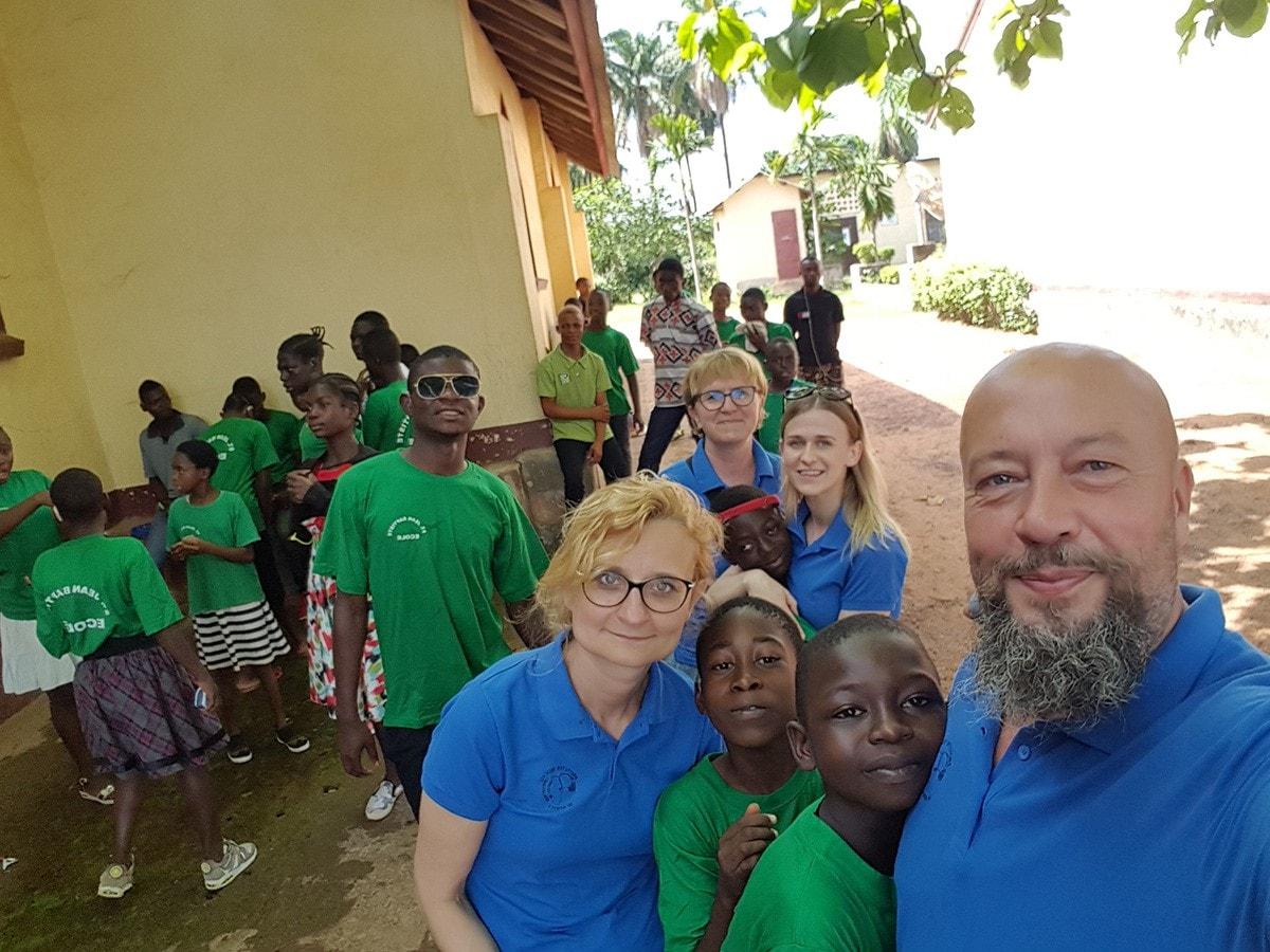Wolontariusze na misjach