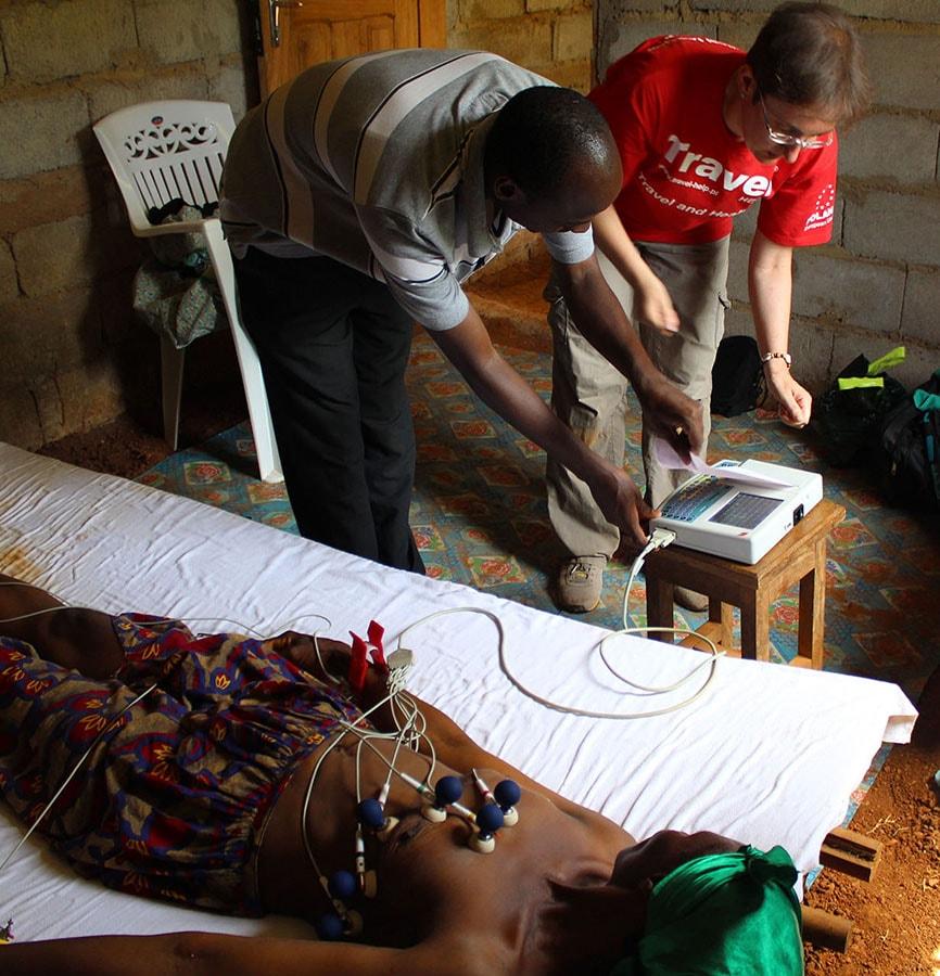 Kardiolog w Afryce