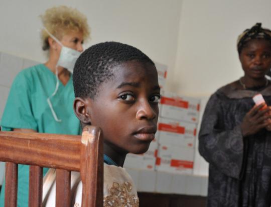 Szpital w Afryce