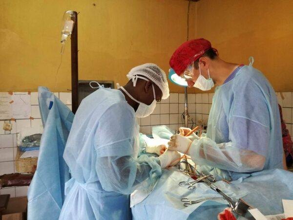 Operacja w Afryce